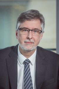 Porträtfoto Prof. Dr. med. Arno Deister, Präsident der Deutschen Gesellschaft für Psychiatrie und Psychotherapie, Psychosomatik und Nervenheilkunde (DGPPN); Foto: Claudia Burger