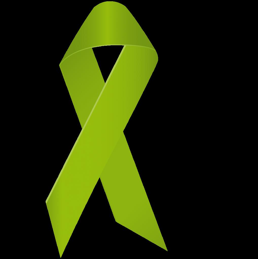 Grüne Schleife des Aktionsbündnises seelische Gesundheit